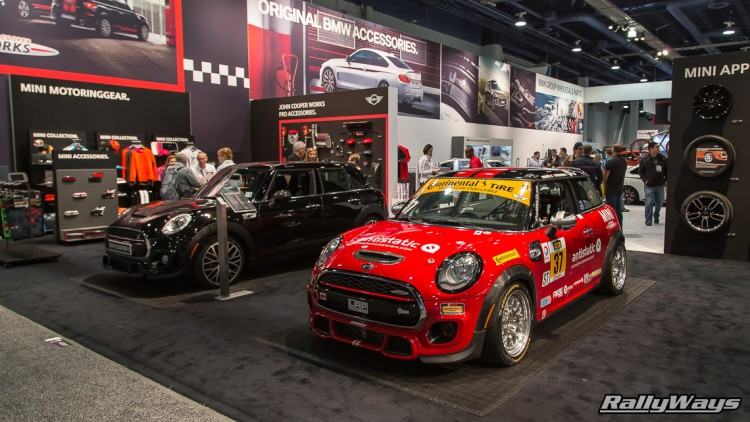 Mini Cooper Race Car SEMA 2015
