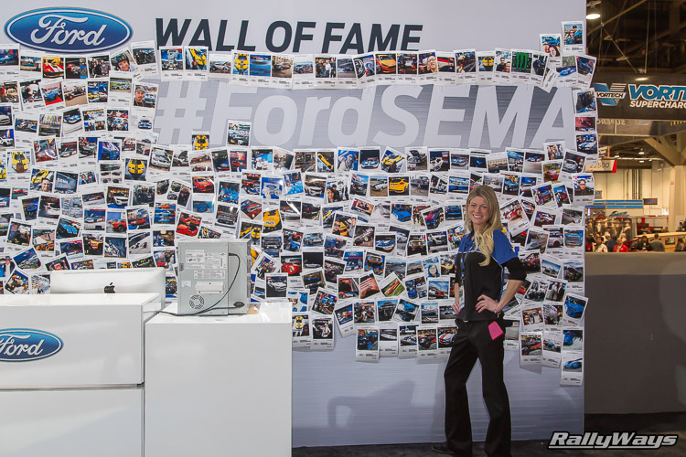 Ford Wall of Fame SEMA Show 2015