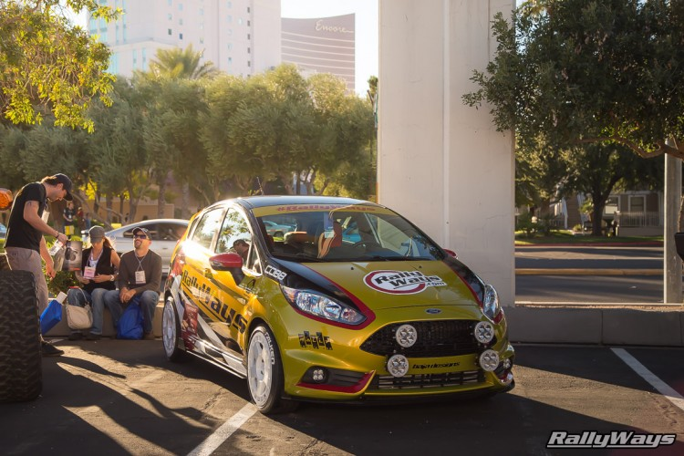RallyWays Fiesta ST at SEMA 2015