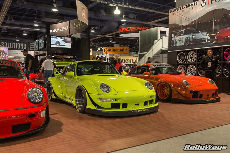 Rauh-Welt Begriff Porsche 911 SEMA 2015 - 1