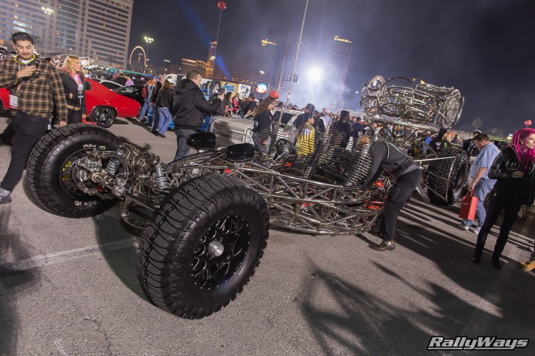 Crazy Tube Frame Car Build - SEMA Ignited 2015
