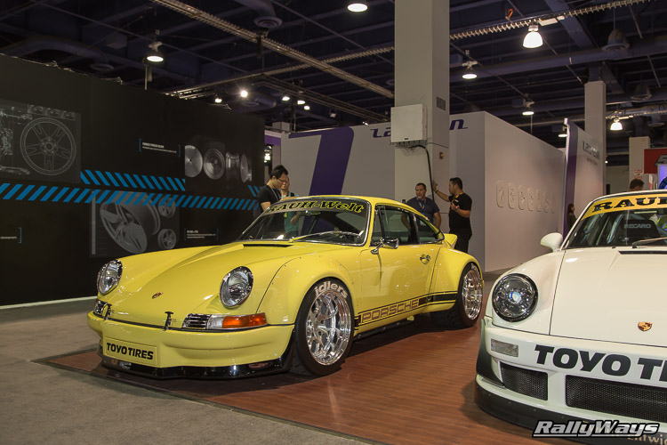 Rauh-Welt Begriff Porsche 911 SEMA 2015 - 2