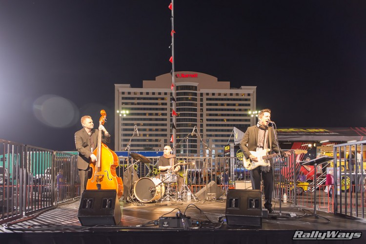 The Band at SEMA Ignited 2015