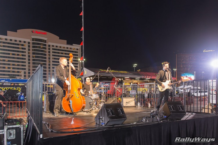 Music Band at SEMA Ignited 2015