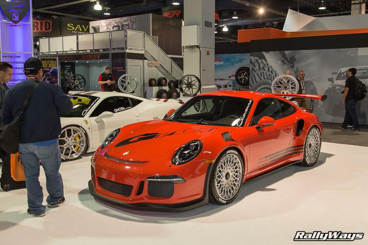 Porsche 991 GT3 RS SEMA 2015