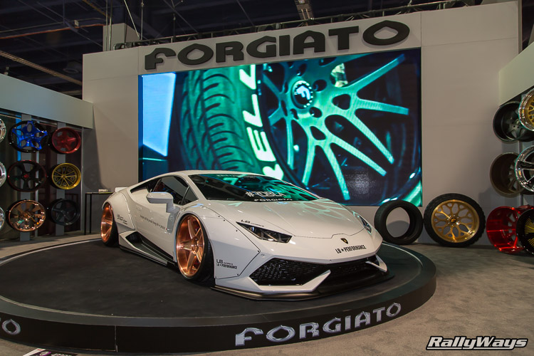 Forgiato Lamborghini Huracan Liberty Walk