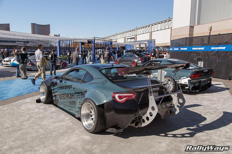Speedhunter Scion FRS Big Wing SEMA 2015