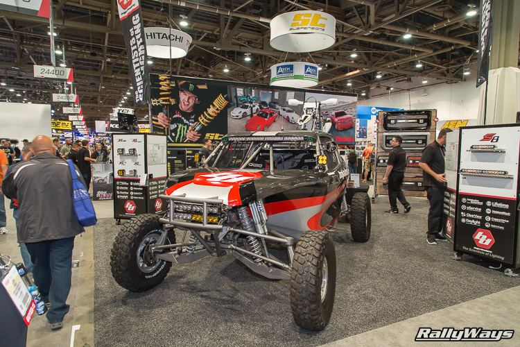 Baja Design Booth SEMA 2015