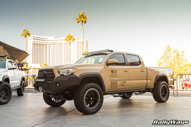 2016 Toyota Tacoma Lifted - SEMA 2015