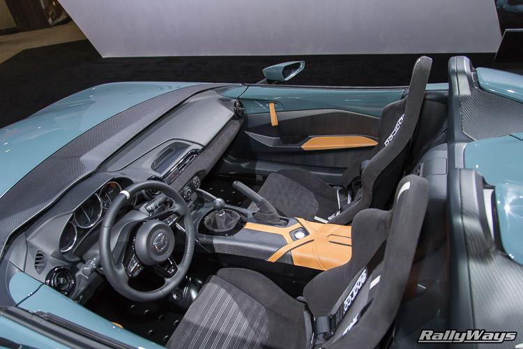 Mazda MX-5 Miata ND Speedster Cockpit