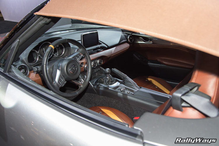 Mazda MX-5 Miata ND Spider Interior