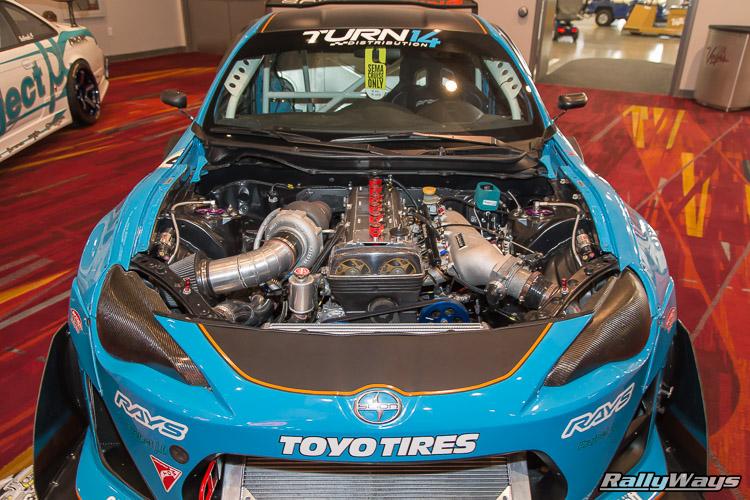 Evasive Motorsports Turbo Scions FR-S