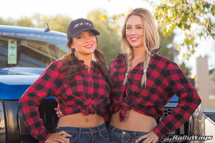 SEMA Cowgirls Featured Vehicle Area