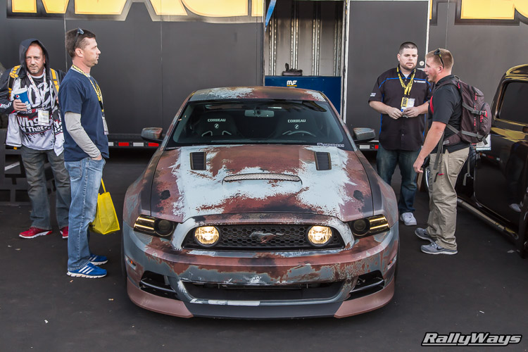 Rusty Wrap Ford Mustang S197-II