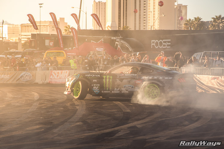 RallyWays Ford SEMA Drifting Photos