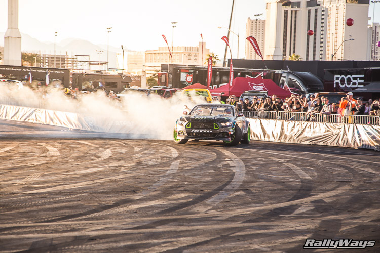 Ford SEMA Mustang Drifting Demo Sequence 1 of 12