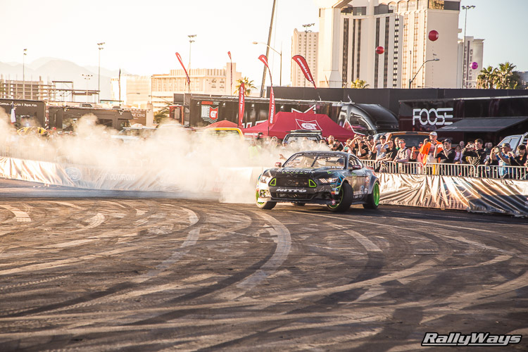 Ford SEMA Mustang Drifting Demo Sequence 2 of 12