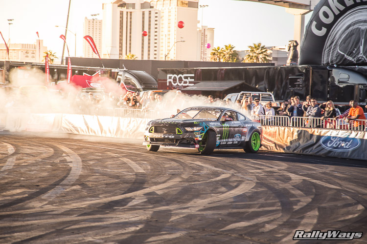 Ford SEMA Mustang Drifting Demo Sequence 3 of 12