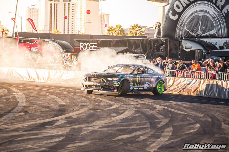 Ford SEMA Mustang Drifting Demo Sequence 4 of 12