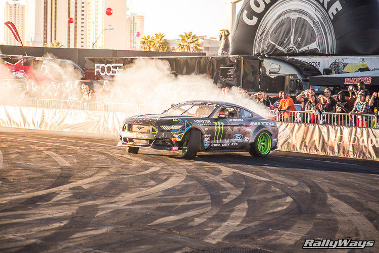 Ford SEMA Mustang Drifting Demo Sequence 5 of 12