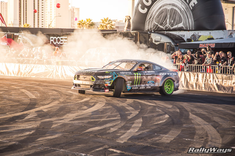 Ford SEMA Mustang Drifting Demo Sequence 6 of 12