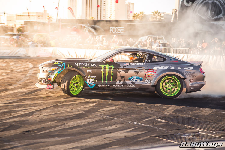 Ford SEMA Mustang Drifting Demo Sequence 10 of 12