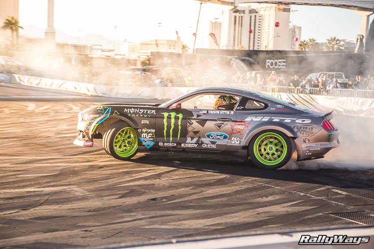 Ford SEMA Mustang Drifting Demo Sequence 11 of 12