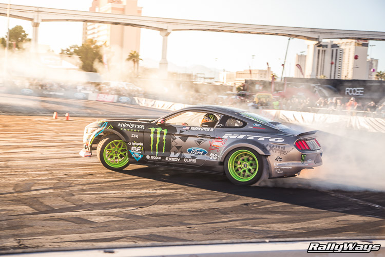 Ford SEMA Mustang Drifting Demo Sequence 12 of 12