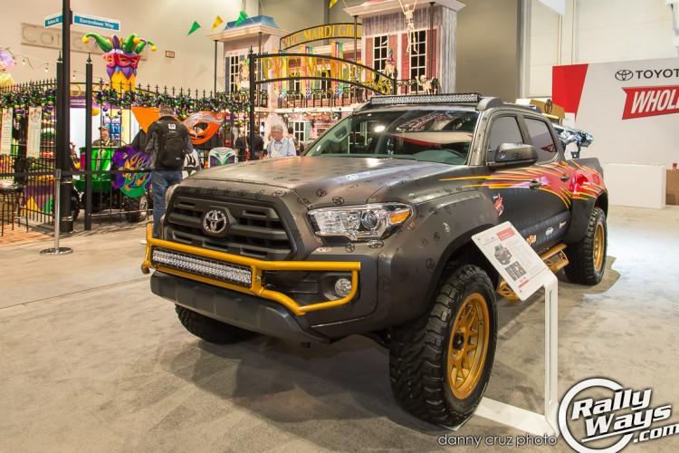 2016 Tacoma SEMA - Toyota Booth