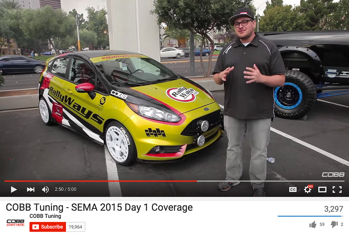 #RallyFist Featured by COBB Tuning at SEMA