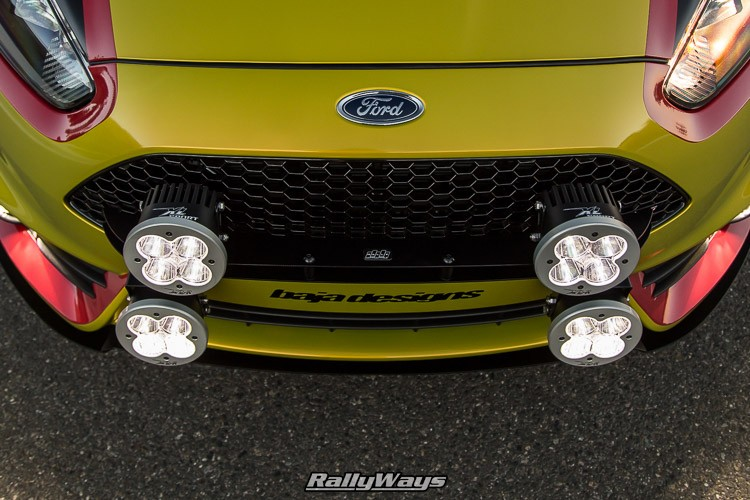 Fiesta ST Rally Lights by Baja Designs
