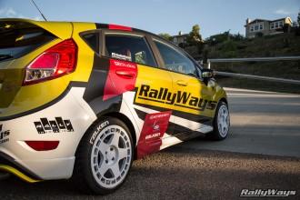 RallyFist Fiesta ST Falken Azenis RT615K Tires