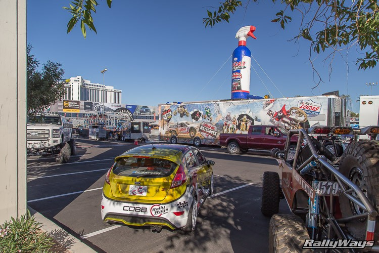 RallyFist Fiesta ST SEMA Featured Vehicle