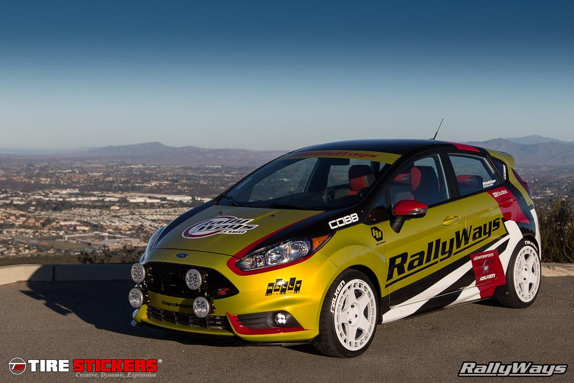 Car design sticker rally - Rallyways Rallyfist Falken Azenis Rt615k With Tire Stickers