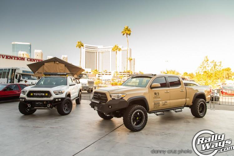 Featured Toyota Tacomas at SEMA 2015
