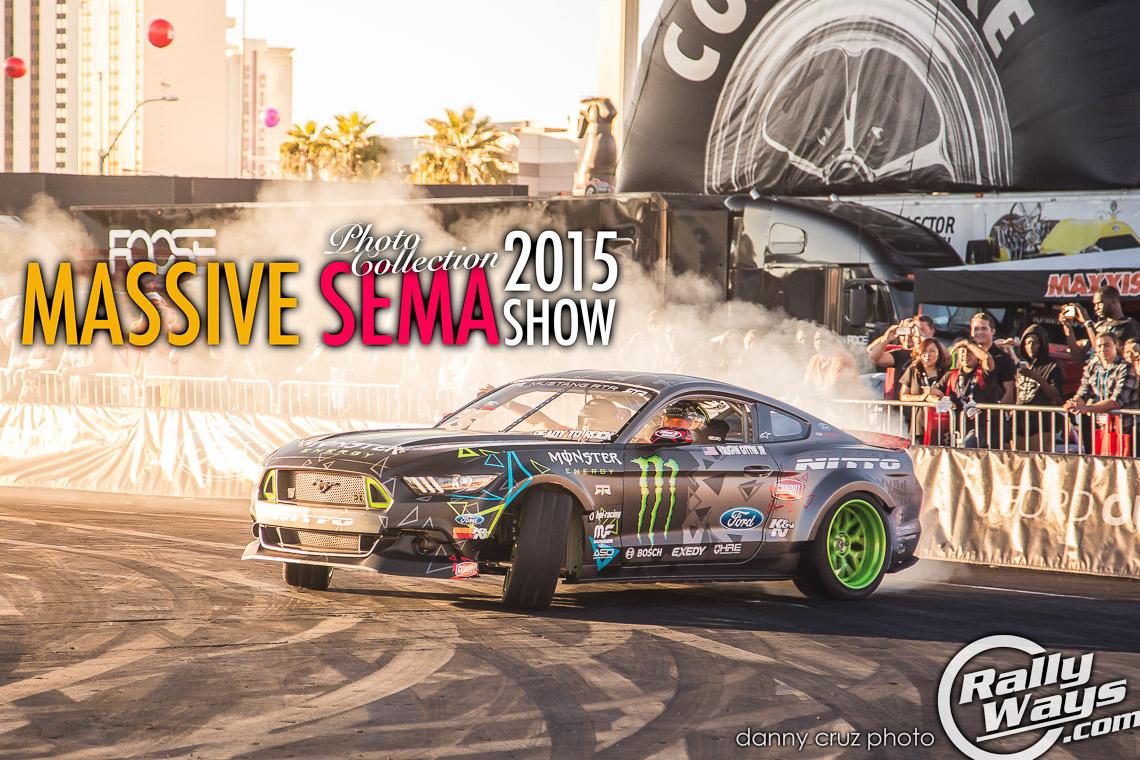 SEMA 2015 Massive Photo Collection