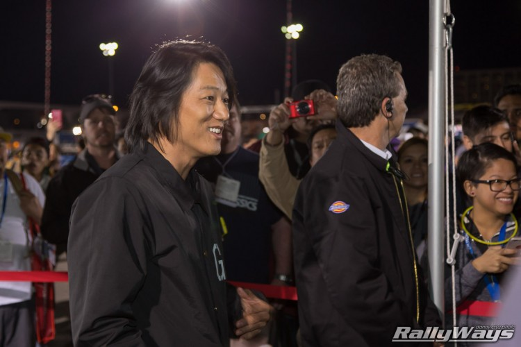 Sung Kang from Fast & Furious at SEMA Ignited 2015