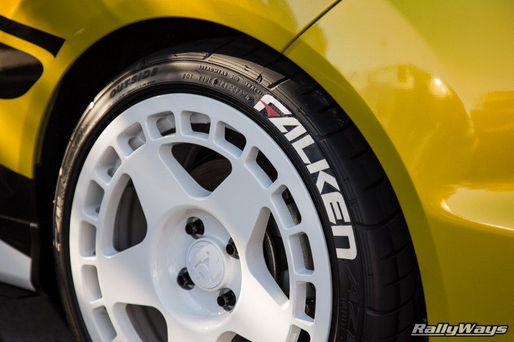 Falken Tire Stickers on RallyFist