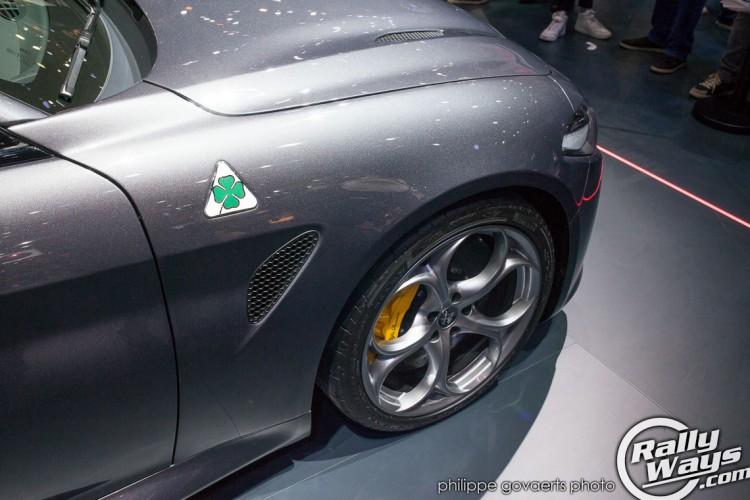 Alfa Romeo Giulia QV 3