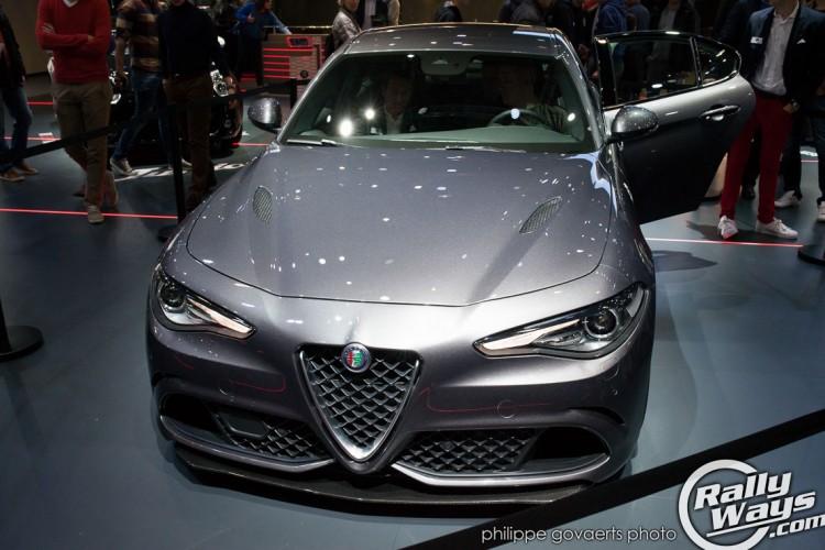 Alfa Romeo Giulia QV 5