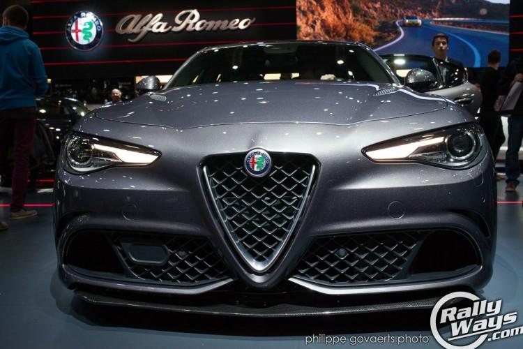 Alfa Romeo Giulia QV Reveal