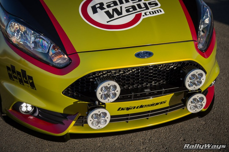 Baja Designs Rally Lights - Ford Fiesta ST