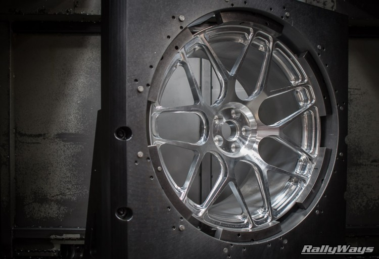 Lightweight Wheel Production - HRE