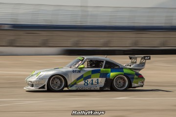 Porsche 993 Race Car Panning Photography