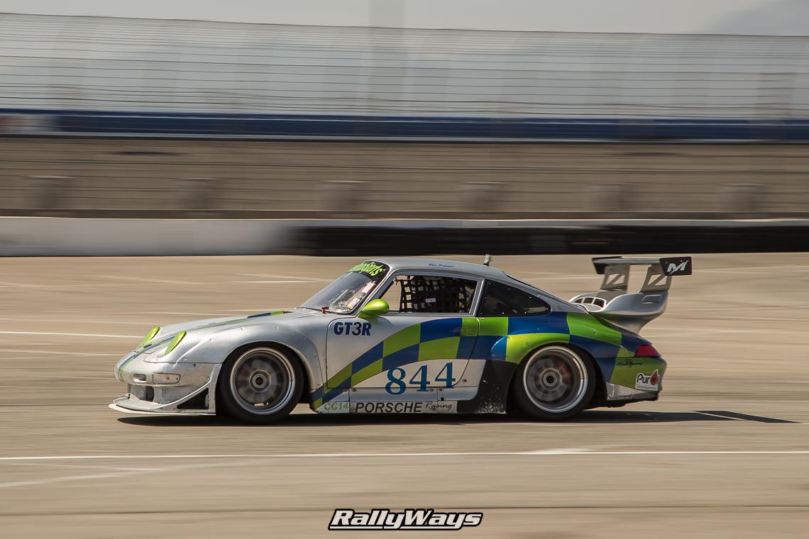 Porsche 993 Race Car Panning Photography