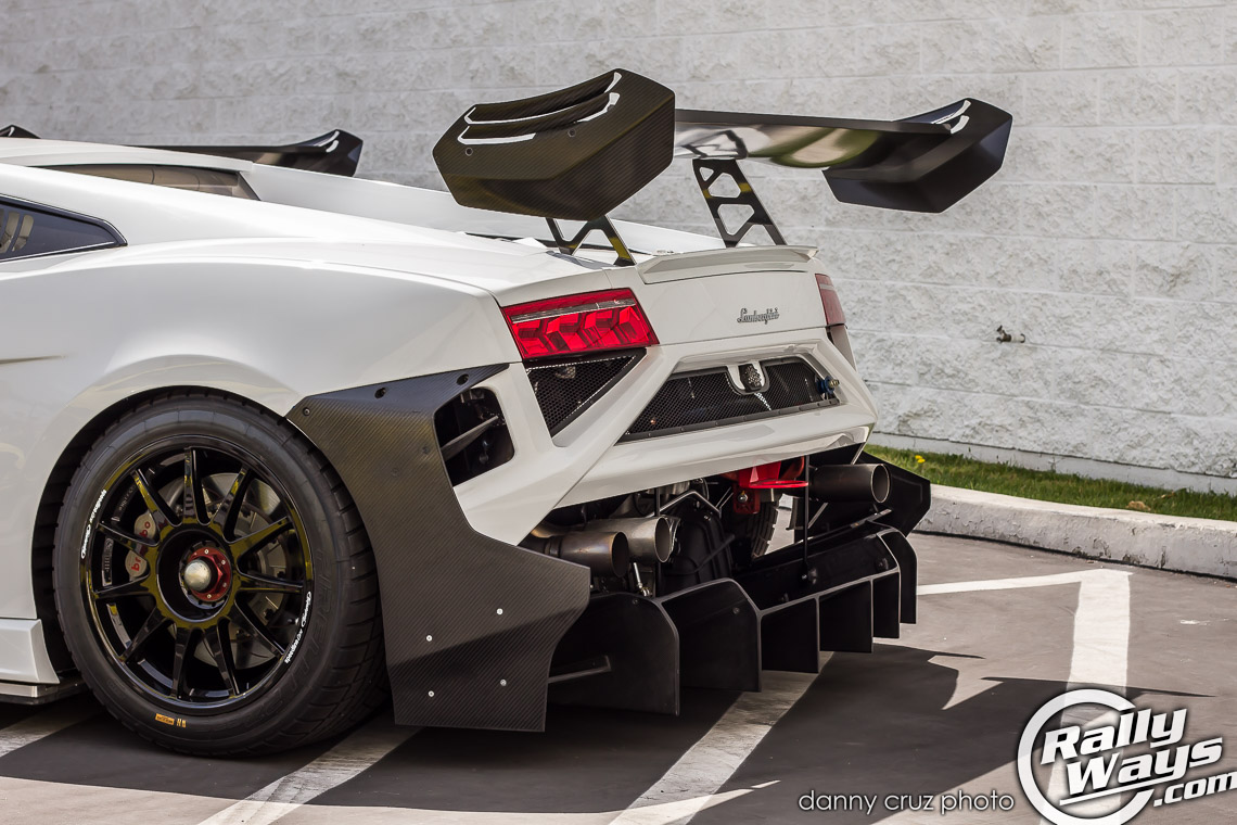 Straight Pipe Exhaust Lamborghini Gallardo Super Trofeo