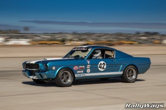 Classic Shelby GT350 Race Car