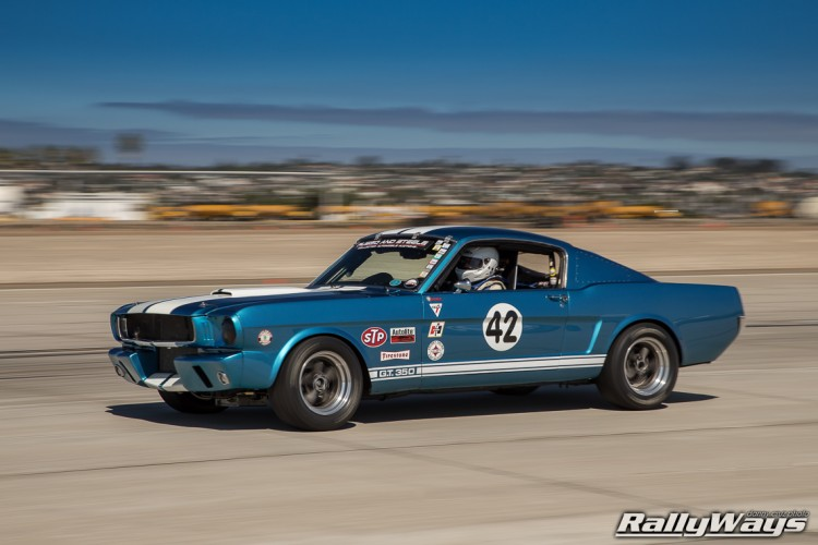 Classic Shelby GT350 Race Car Number 42