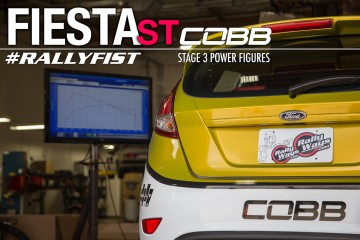 Fiesta ST COBB Stage 3 Power Figures - #RallyFist RallyWays Ford Fiesta ST