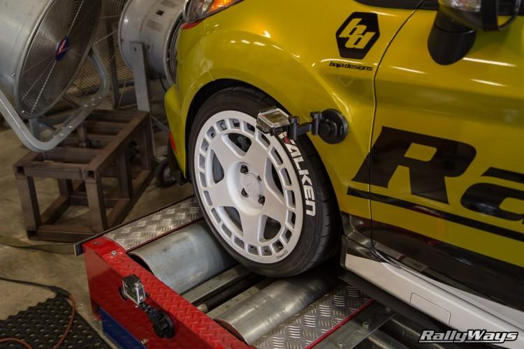 Fiesta ST Dynamometer  - Rolling Road Front Wheel Drive